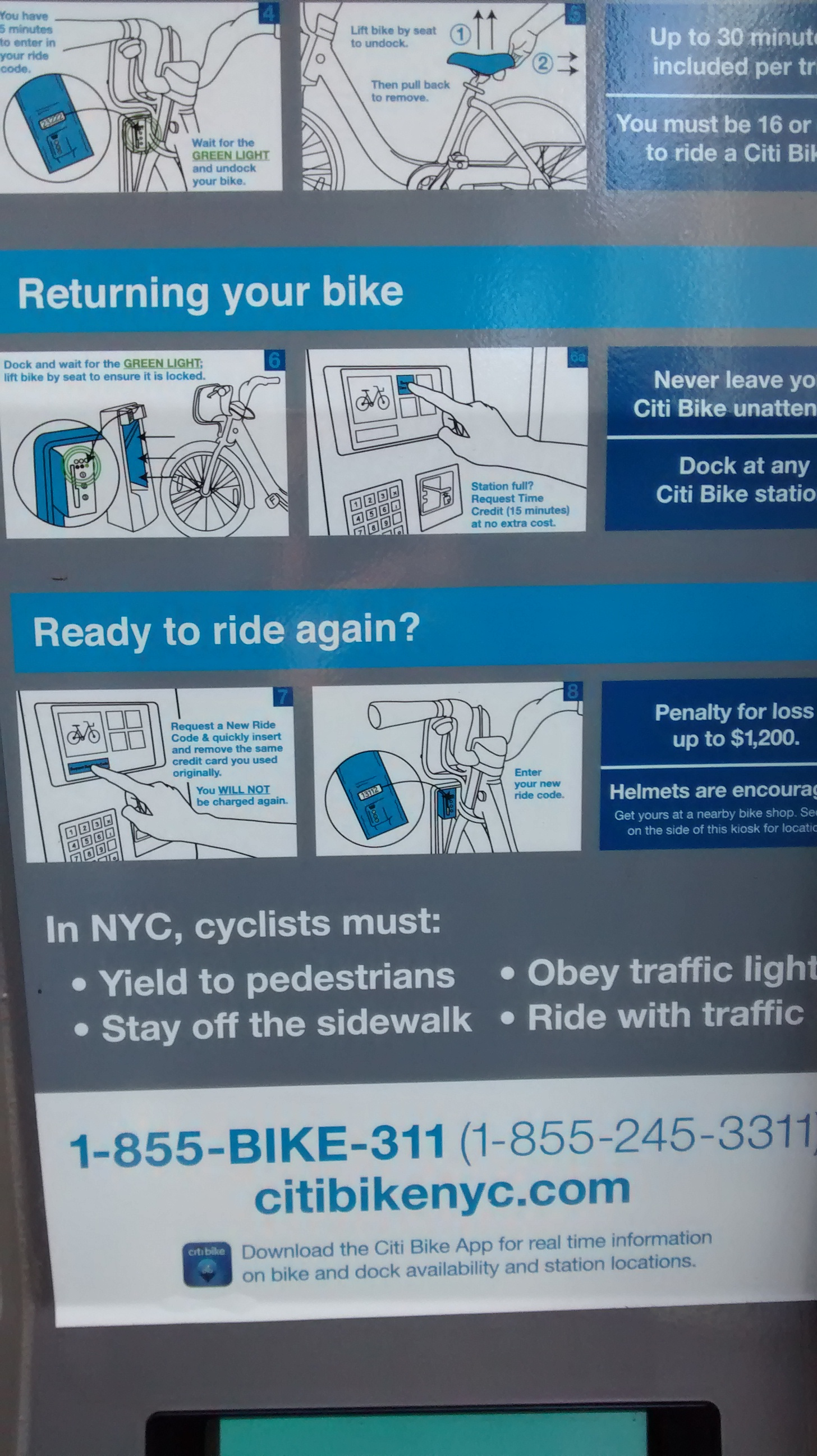 City Bike Sharing NY 3