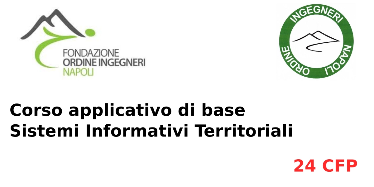 Image of Corso applicativo di base Sistemi Informativi Territoriali